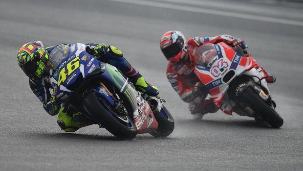 Andrea Dovizioso akan menjadi pebalap Italia paling senior di MotoGP jika Valentino Rossi pensiun.