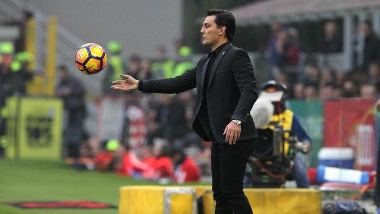 Montella Merasa Puas Laga Sulit Sudah Dimenangi Milan