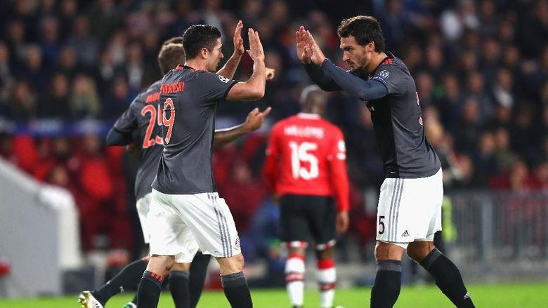 Ancelotti Senang Bayern Tidak Cepat Putus Asa