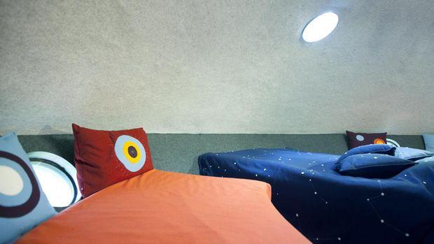 Interior kamar (Treehotel)