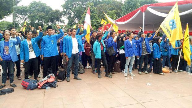 #JakartakuDamai, Para Mahasiswa Ini Deklarasi Berharap 4 November Damai