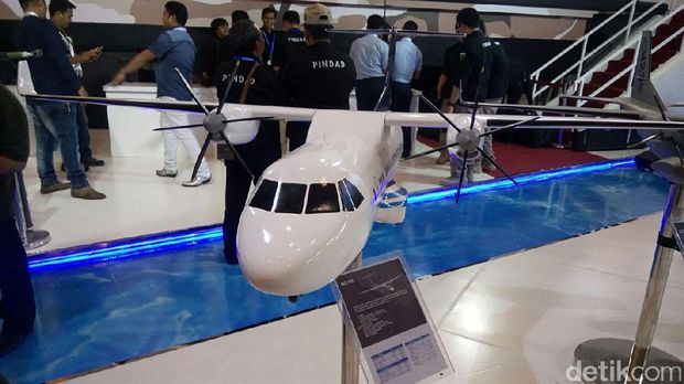 Ini Dia N245, Pesawat Komersial Hasil Duet PTDI dan LAPAN