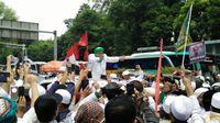 Demo 4 November, Hebohnya Demonstran Sambut Habib Rizieq di Istiqlal