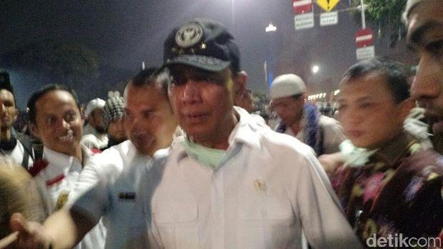 Kronologi Penghujung Demo 4 November di Depan Istana yang Ricuh