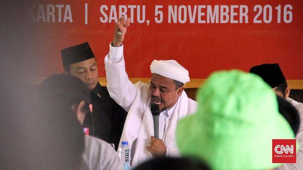 Jejak FPI dan Rizieq di Panggung Demo Indonesia