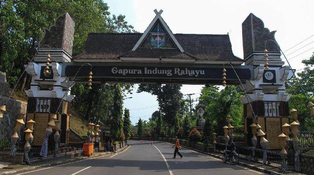 Gapura Indung Rahayu (Tri/detikTravel)