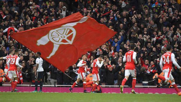 Arsenal belakangan memiliki rekor yang kurang positif jika melawan Tottenham.