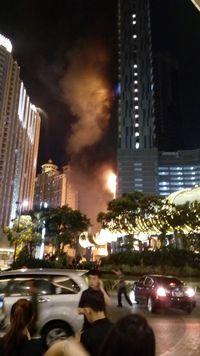 Gedung NEO SOHO Tanjung Dureng Grogol Terbakar