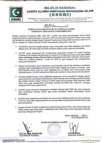 Ditandatangani Mahfud MD, Ini Sikap KAHMI Atas Ditangkapnya Anggota HMI