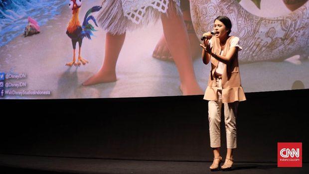 Keterlibatan Maudy Ayunda dalam Film Disney 'Moana'