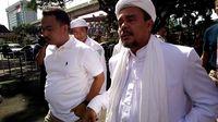 Habib Rizieq Shihab di Mabes Polri, Selasa (15/11/2016)
