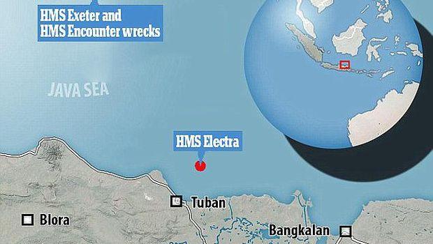 Bangkai Kapal Perang Inggris dan AS Juga Lenyap di Laut Jawa
