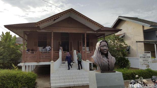 Rumah Fatwamati di Bengkulu (Fitraya/detikTravel)