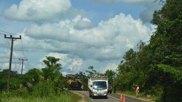 2018, Jalan Paralel Perbatasan RI-Malaysia di Kalbar Tembus 100%