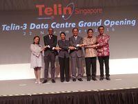 Ke Singapura, Menteri Rini Resmikan Data Center Telkom
