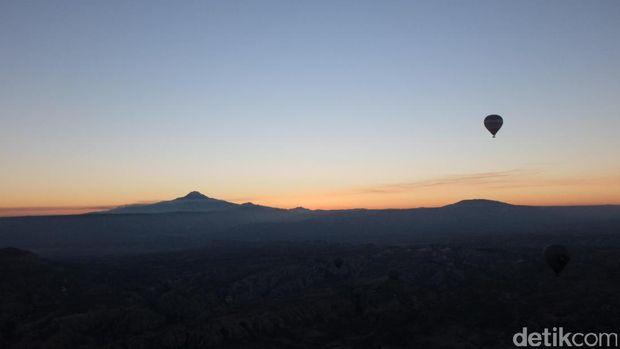 Matahari yg akan muncul (Rois/detikTravel)