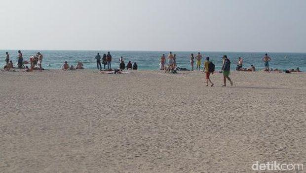 Selamat datang di Pantai Jumeirah (Afif/detikTravel)