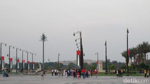 Kawasan Za'abeel Palace (Afif/detikTravel)