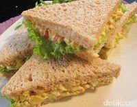 Punya Roti Tawar dan Telur? Besok Pagi Bisa Bikin 5 Sandwich Enak Buat Sarapan