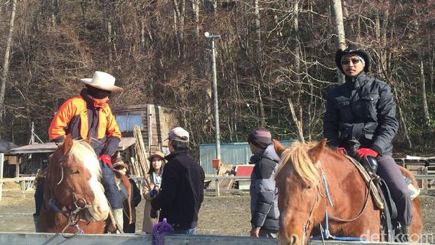 Suasana ala Wild West di Sapporo (Aryo/detikTravel)