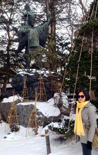 Patung Yoshitake (Aryo/detikTravel)