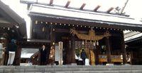 Pengunjung di Kuil Hokkaido Jingu (Aryo/detikTravel)