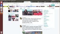 Ajak Masyarakat Berdoa, Presiden Jokowi: Aceh Tidak Sendiri