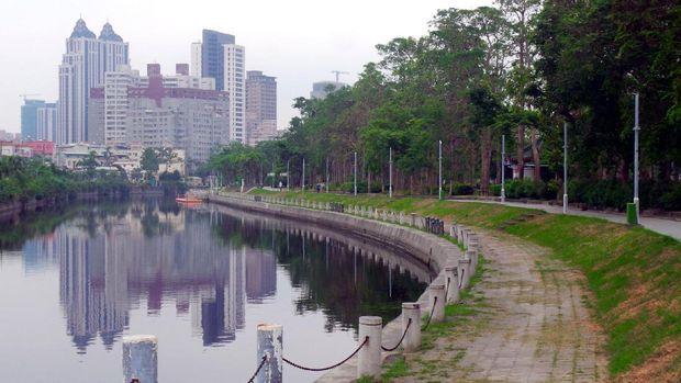 Sungai Cinta jadi saksi berkembangnya Kota Kaohsiung (Wahyu/detikTravel)