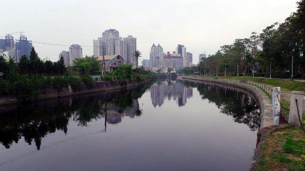 Inilah yg namanya Sungai Cinta di Taiwan (Wahyu/detikTravel)