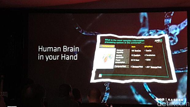 Otak Manusia dalam Hitungan komputer ala AMD
