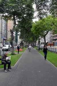 Suasana pagi di Kota Lima, Peru (Angga/detikTravel)