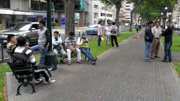 Masyarakat lokal Peru (Angga/detikTravel)