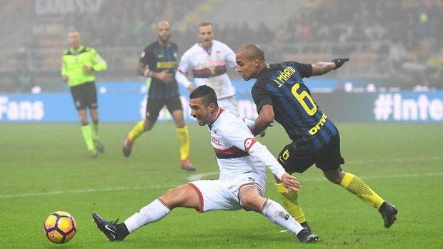 Dua Gol Brozovic Bawa Inter Bekuk Genoa