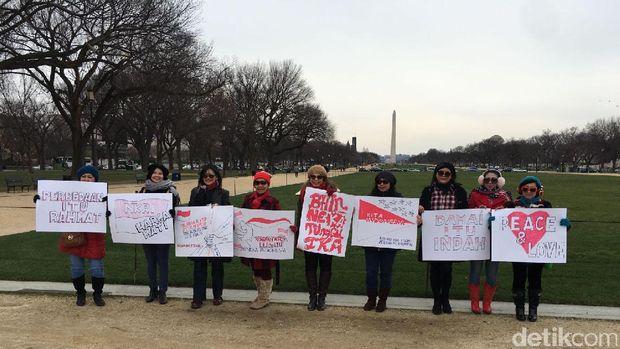 Pesan Damai WNI Untuk Tanah Air dari Washington DC