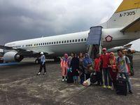 Ikut Semangati Timnas, Panglima TNI dan KSAU Terbang ke Thailand