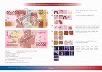Rupiah desain baru nominal Rp 100,-