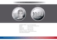 uang rupiah pecahan logam nominal Rp 1.000,-