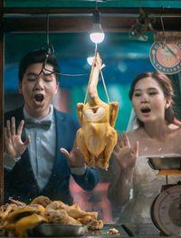 Ini Cara Unik Pasangan Foodies Membuat Foto <i/>Prewedding</i>