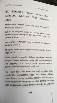 Bambang Tri, Penulis Buku 'Jokowi Undercover' Ditangkap Polisi