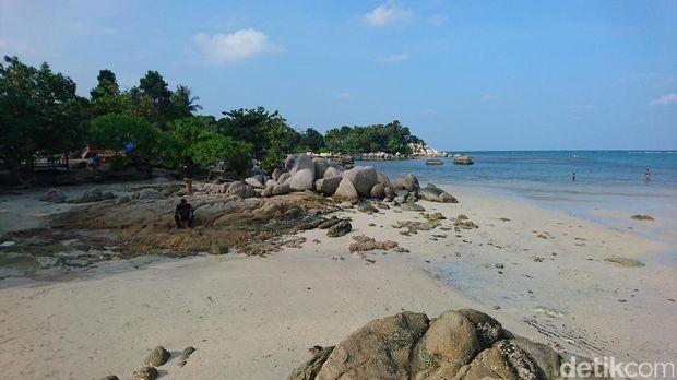 Pantai indah ini jadi favorit ketika liburan (Masaul/detikTravel)