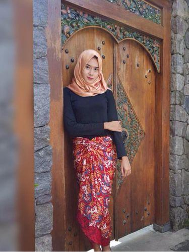 Foto: Hijab Ala Lia Mansur, Juara Taekwondo Internasional Asal Yogyakarta
