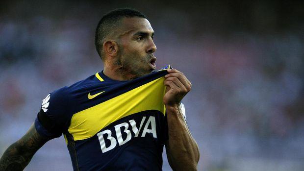 Carlos Tevez memutuskan kembali memperkuat klub Argentina, Carlos Tevez. (