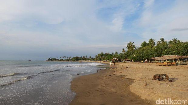 Pantai Florida yg berpasir putih (Fitraya/detikTravel)