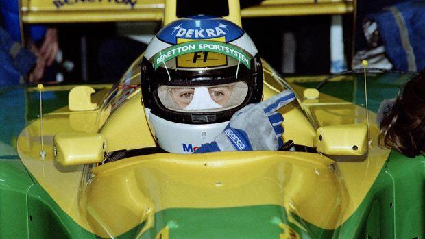 Bersama Benetton, Schumacher dua kali menjadi juara dunia.