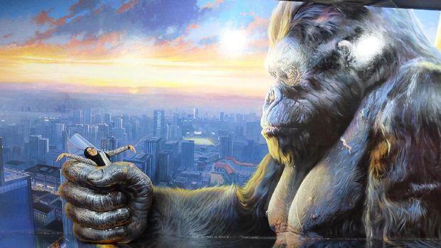 Digenggam King Kong (Avitia/detikTravel)