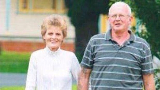 John dan istrinya, Vida (Foto: Leukodystrophy Australia)