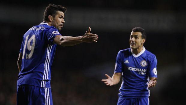 Ketika Diego Costa Marah-Marah ke Pedro