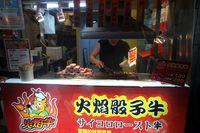 Ada banyak jajanan enak di Shilin Night Market (Wahyu/detikTravel)