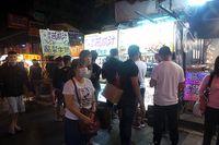 Suasana ramai di Shilin Night Market (Wahyu/detikTravel)