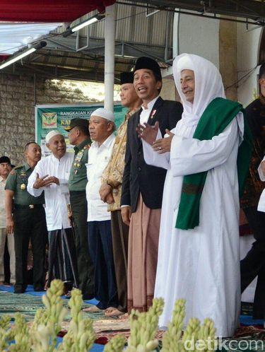 Kisah Kedekatan Jokowi dan Habib Luthfi